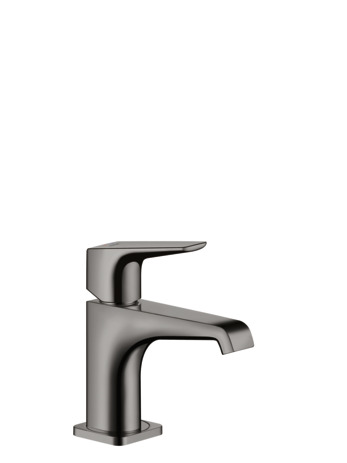 Single lever basin mixer 90 for cloakroom basins with lever handle without waste