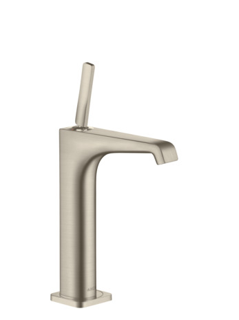Single lever basin mixer 190 with pin handle for wash bowls with waste