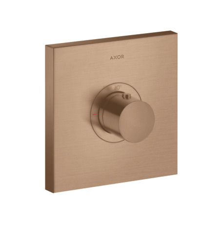 Thermostatic mixer HighFlow square for concealed installation