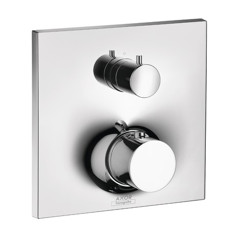 Thermostatic Trim with Volume Control and Diverter