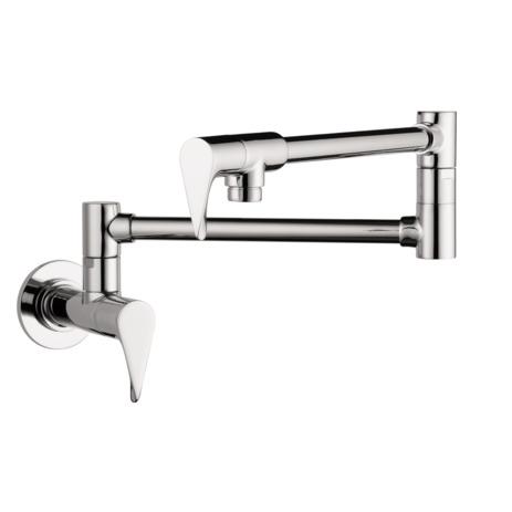 axor kitchen faucets axor citterio axor citterio pot filler wall mounted 39834001. Black Bedroom Furniture Sets. Home Design Ideas