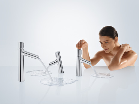 Basin mixer 190 with pop-up waste