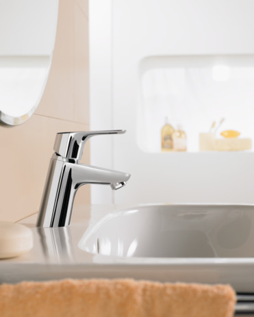 Single lever basin mixer 70 without waste set