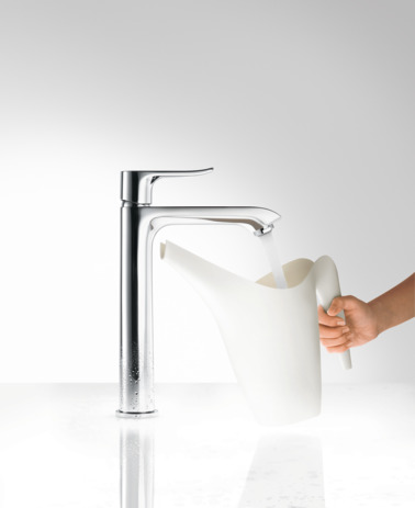 Single lever basin mixer 200 with pop-up waste set