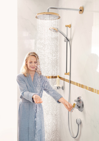 Overhead shower 240 1jet with shower arm