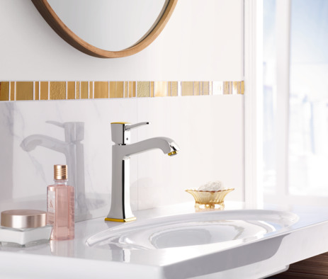 Single-Hole Faucet 160 with Pop-Up Drain, 1.2 GPM