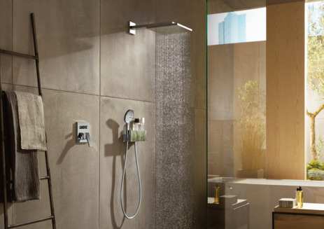 Overhead shower 300 1jet with shower arm