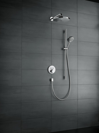 Overhead shower 300 2jet with shower arm