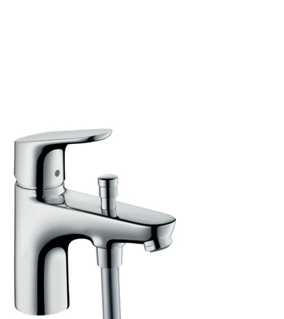 Single lever bath and shower mixer Monotrou with 2 flow rates