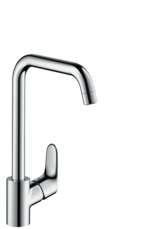 Single lever kitchen mixer 260, LowPressure/vented hot water cylinders, 1jet