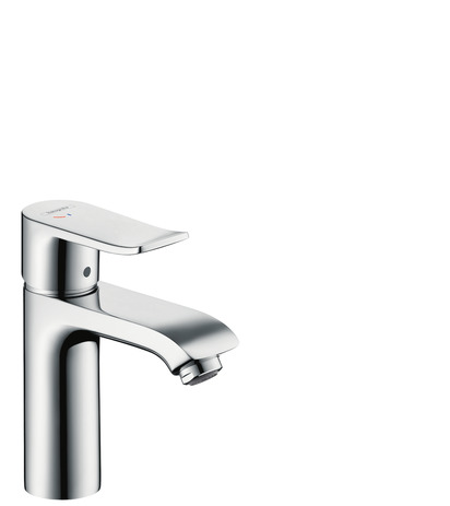 Single lever basin mixer 110 CoolStart with pop-up waste