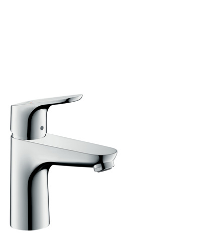 Single lever basin mixer 100 CoolStart with pop-up waste
