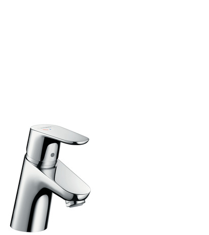 Single lever basin mixer 70 CoolStart with pop-up waste set
