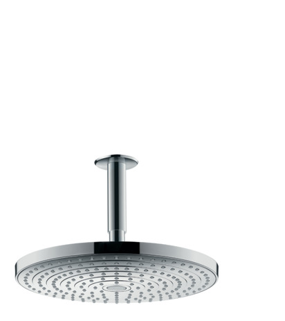 Overhead shower 300 2jet with ceiling connector