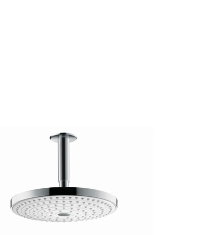 Overhead shower 240 2jet with ceiling connector
