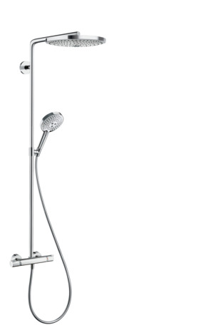 Showerpipe 300 2jet with thermostatic shower mixer