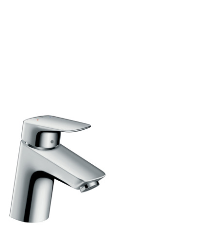Single lever basin mixer 70 with pop-up waste