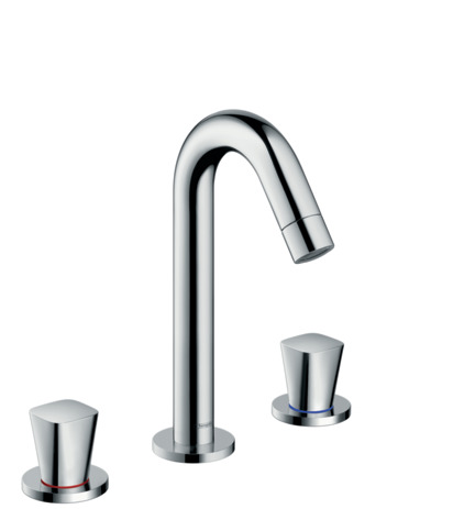 3-hole basin mixer 150 with pop-up waste set