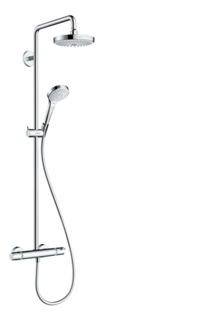 Showerpipe 180 2jet EcoSmart 9 l/min with thermostat