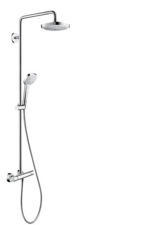 Showerpipe 180 2jet with thermostat