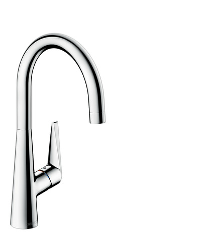 Single lever kitchen mixer 260, single spray mode