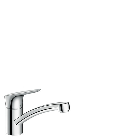 Single lever kitchen mixer 120, single spray mode
