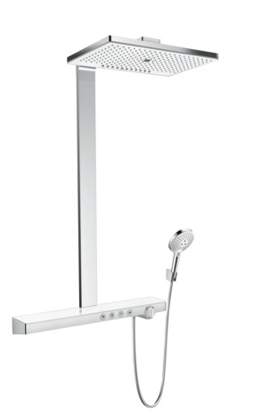 Showerpipe 460 3jet with thermostatic shower mixer