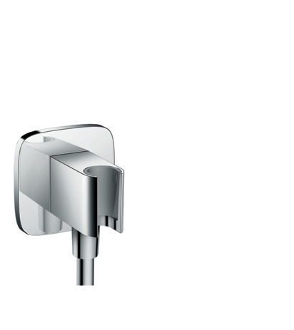 Wall outlet E with shower holder