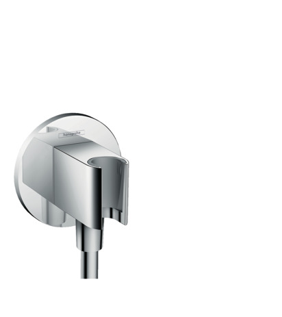 Wall outlet S with shower holder