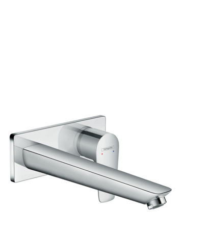 Single lever basin mixer for concealed installation with spout 22.5 cm