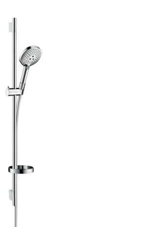 Shower set 120 3jet EcoSmart 9 l/min with shower rail 90 cm and soap dish