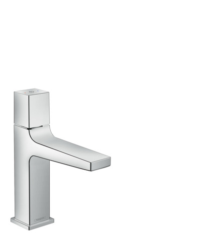 Basin mixer 110 Select with push-open waste