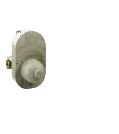 Basic set for single lever manual bath mixer for concealed installation