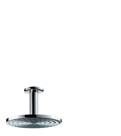 Overhead shower 180 1jet with ceiling connector