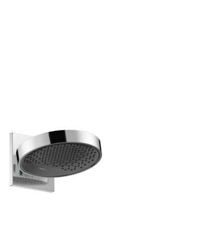 Overhead shower 250 1jet with wall connector