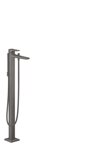 Single lever bath mixer floor-standing with lever handle