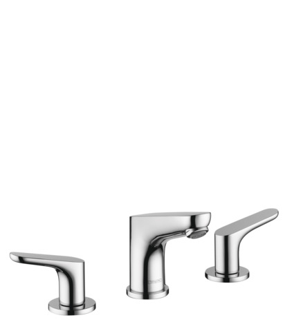 Widespread Faucet 100 with Pop-Up Drain, 1.2 GPM