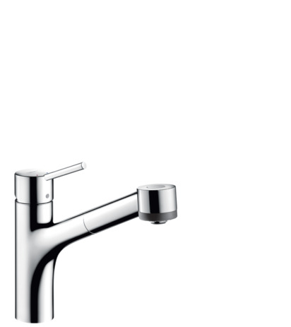Kitchen Faucet, 2-Spray Pull-Out, 1.75 GPM