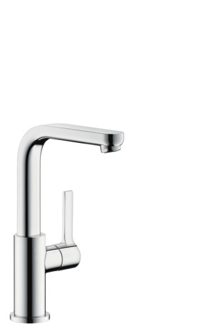 Single-Hole Faucet 230 with Swivel Spout and Pop-Up Drain, 1.2 GPM