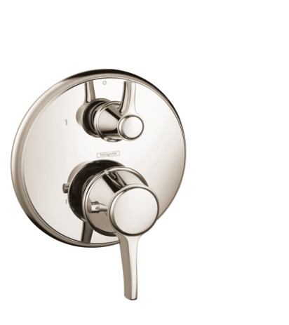 Thermostatic Trim with Volume Control, Round
