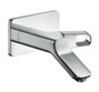 Single lever basin mixer for concealed installation with spout 200 mm wall-mounted