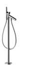 2-handle manual bath mixer floor-standing