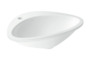 Built-in wash basin 585 mm x 469 mm with 1 tap hole