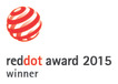 Red Dot product design award 2015