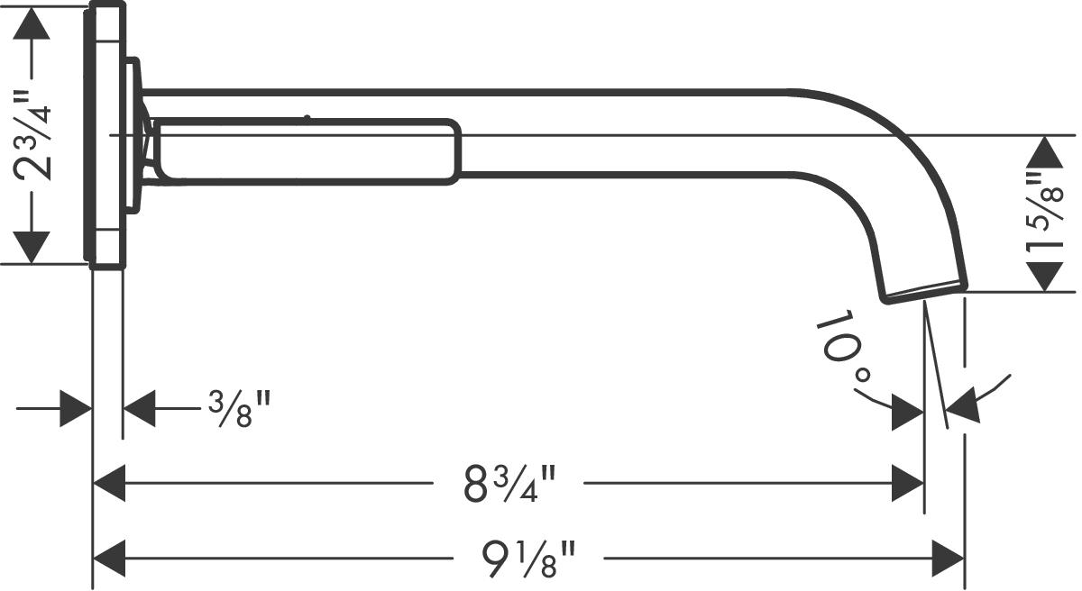 AXOR Citterio E Washbasin faucets: chrome, 36114001