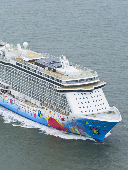 Cruiseliner Norwegian Breakaway