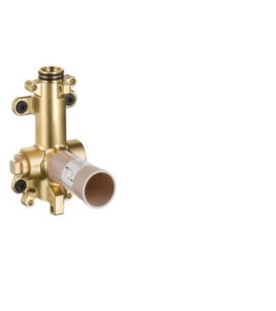 Basic set for shower module 120/120 for concealed installation