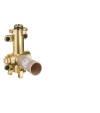 Set básico para módulo de ducha 120/120 empotrada