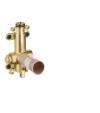 Basic set for shut-off valve 120/120 for concealed installation