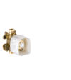 Basic set for thermostatic module 120/120 for concealed installation